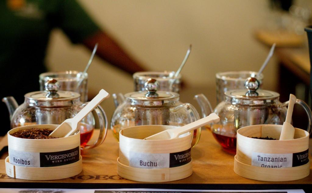 Tea blending